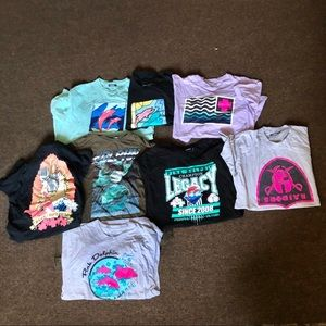 PINK DOLPHIN Lot of 8 Men's T-shirts Large